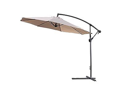 Amazon.com: Paraguas Velago Gandia Cantilever: Jardín y ...