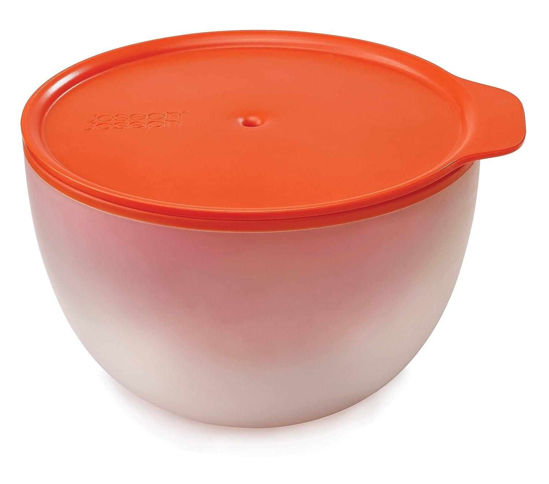 Joseph Joseph 45009 M-Cuisine Cool Touch Microwave Large Bowl, 2.1 quart, Orange