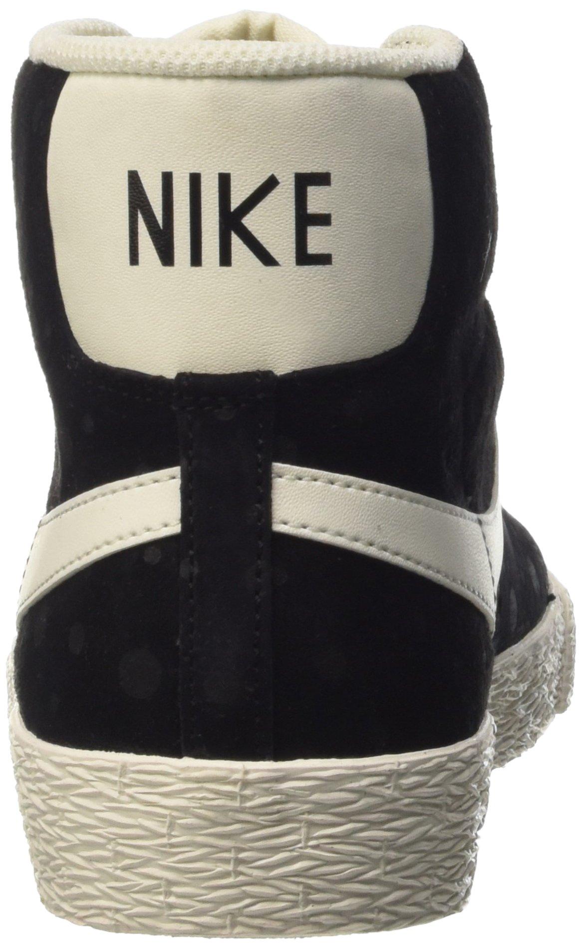 Nike Women's Blazer Mid Suede Vintage Black/White 518171-015 (SIZE: 8) by NIKE (Image #2)