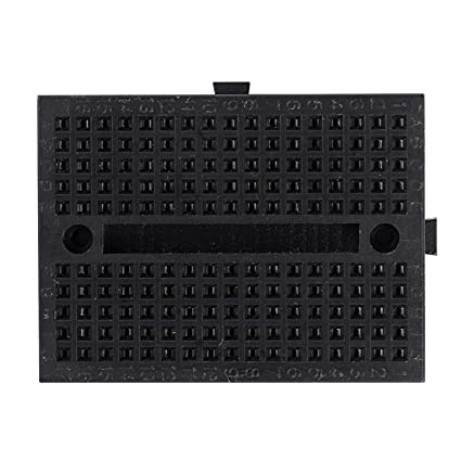 1 x 170 Atar-Punto Prototipo Solderless Mini Protoboard para Arduino Shield Negro