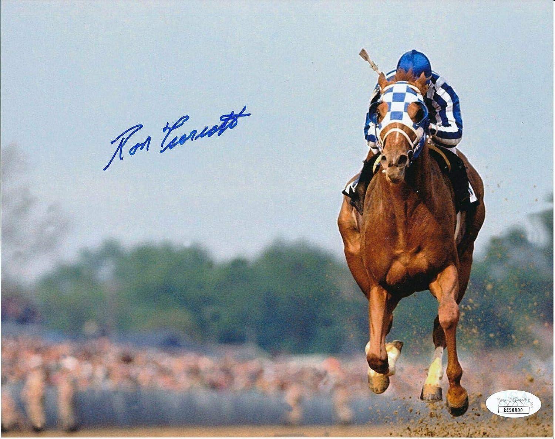 Ron Turcotte Secretariat Signed//Autographed 8x10 Photo 145798 Autographed Horse Racing Photos JSA Certified