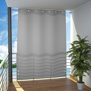 Amazon.de: Seitlicher Balkonsichtschutz Balkon Paravent Sichtschutz ...
