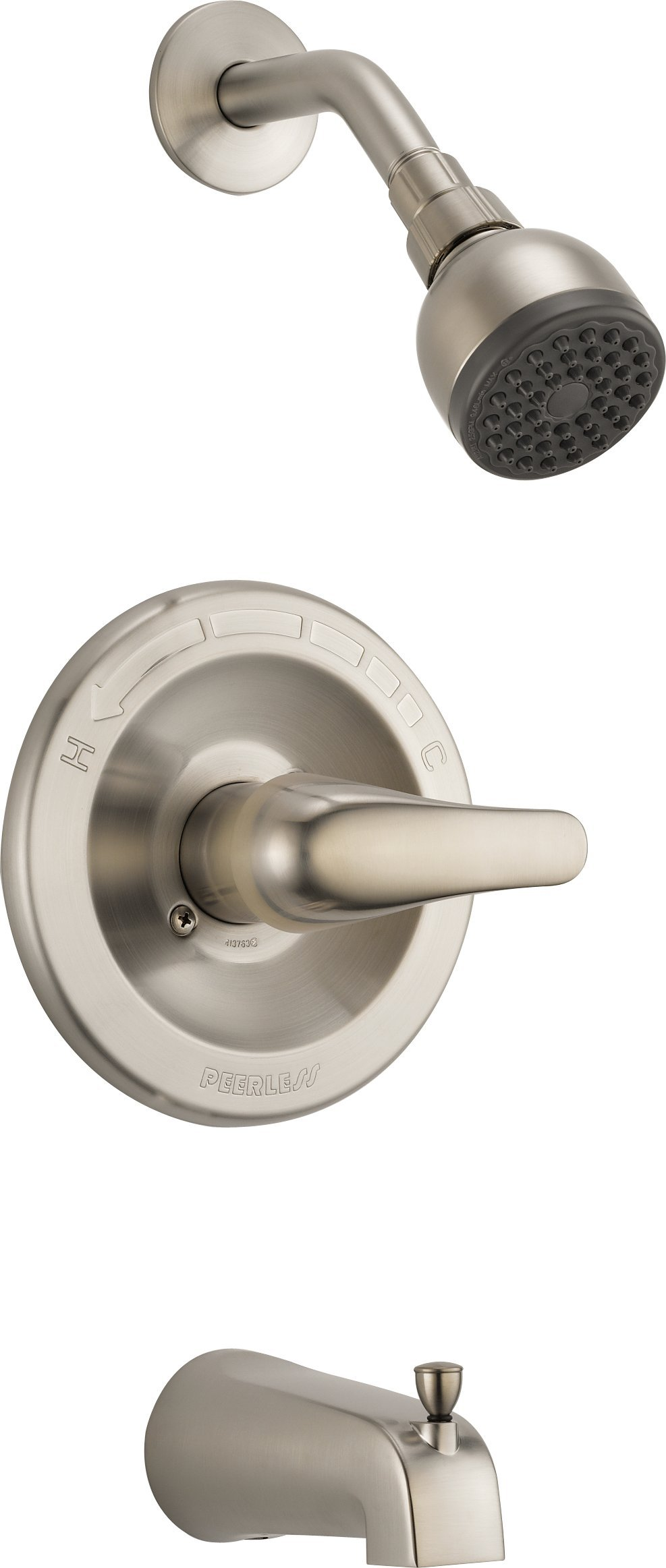 Peerless PTT188753-BN Classic Tub and Shower Trim, Brushed Nickel