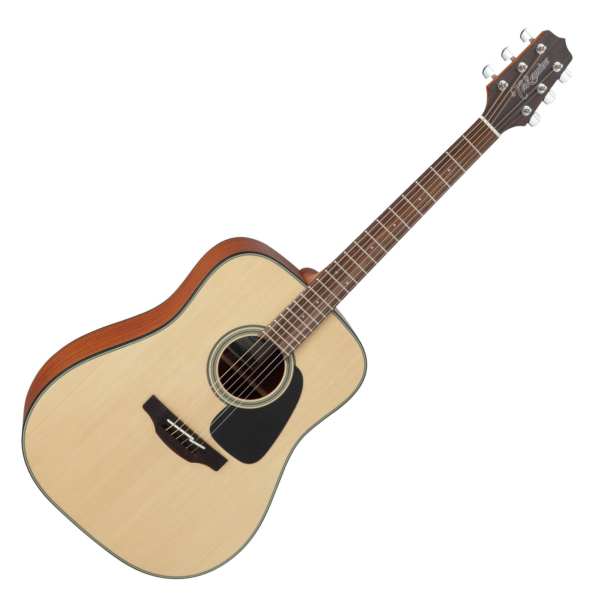 Takamine G Series GD10 Dreadnought Acoustic Guitar Satin Natural by Takamine