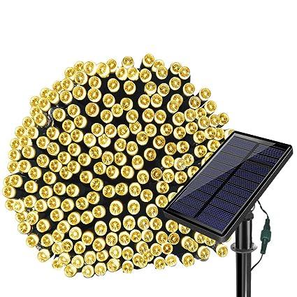 solarmks solar string lights78ft 220 led outdoor string lightswaterproof solar christmas lights - Solar Christmas Lights Amazon