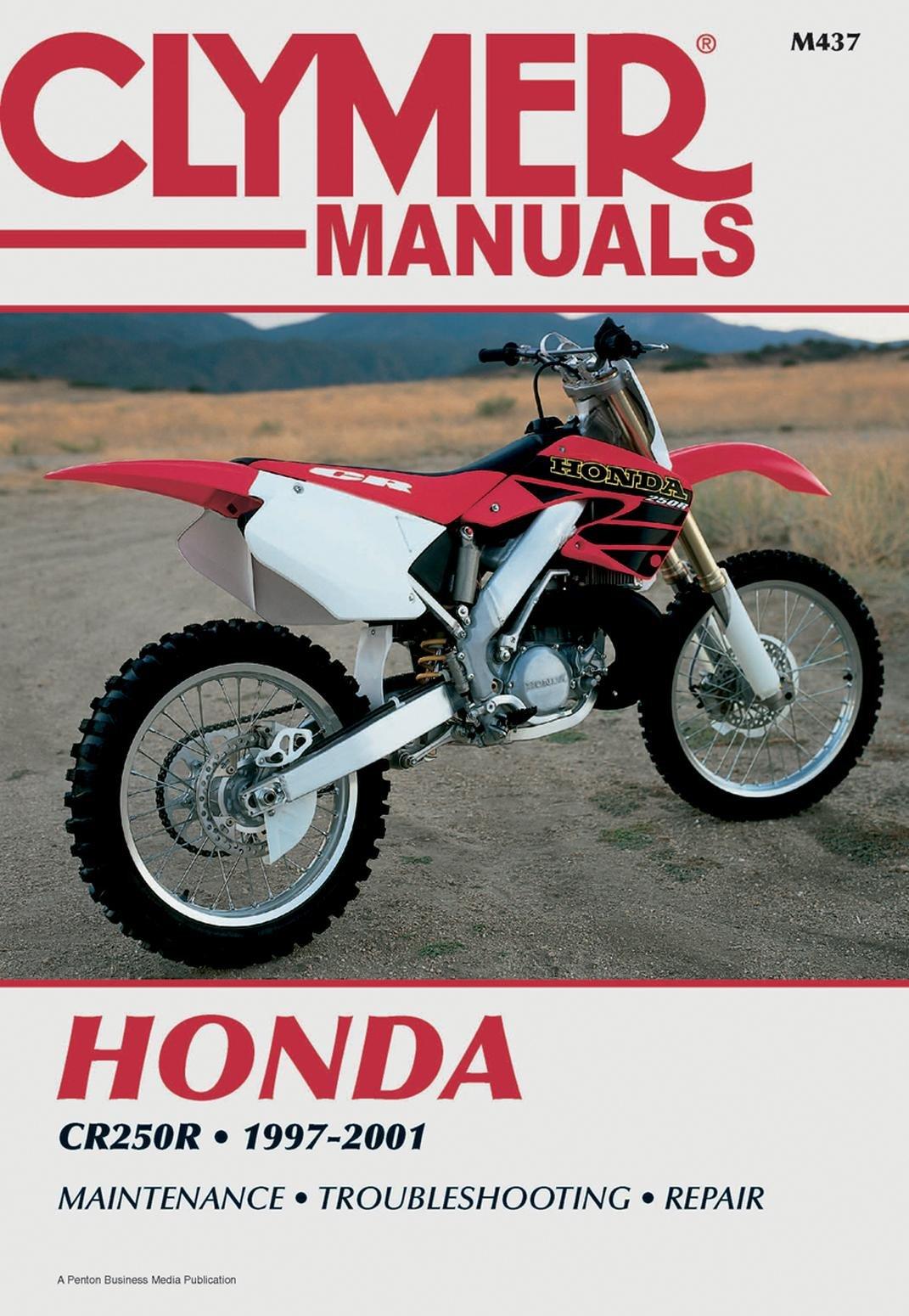 Clymer m437 manual hon cr250 (M437)
