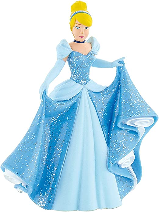 Tremendous Amazon Com Disneys Cinderella Birthday Party Cake Topper Funny Birthday Cards Online Overcheapnameinfo