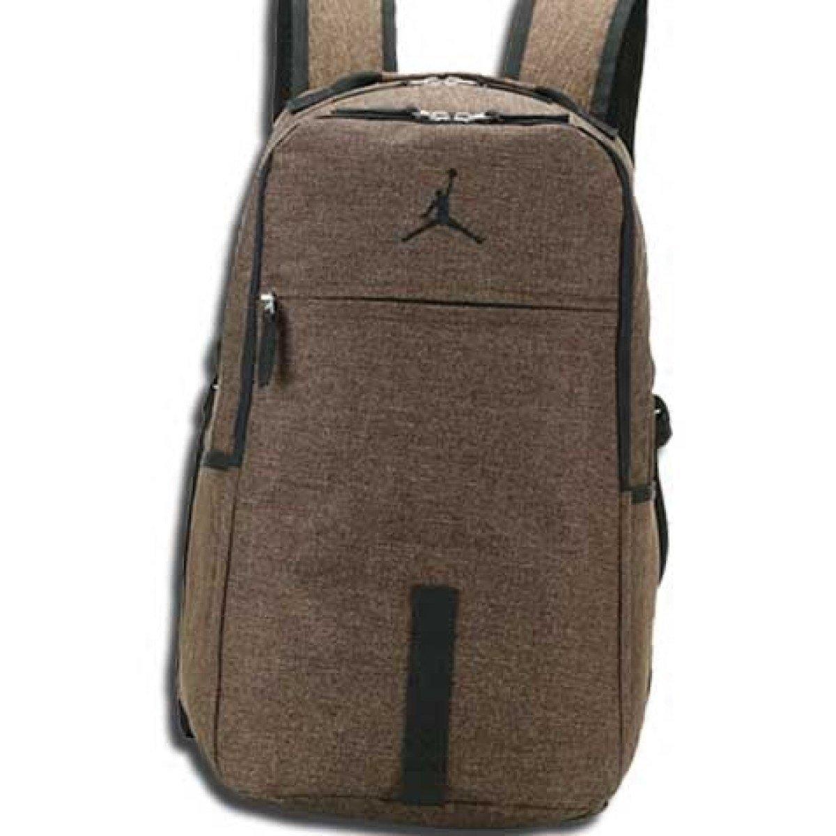 Brown One Size Student Bag Fashion Waterproof Computer Bag Outdoor Travel Shoulder Bag