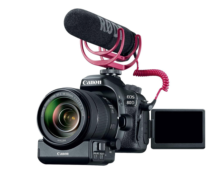 Canon EOS 80D + EF-S 18-135mm IS USM Juego de cámara SLR 24.2MP ...