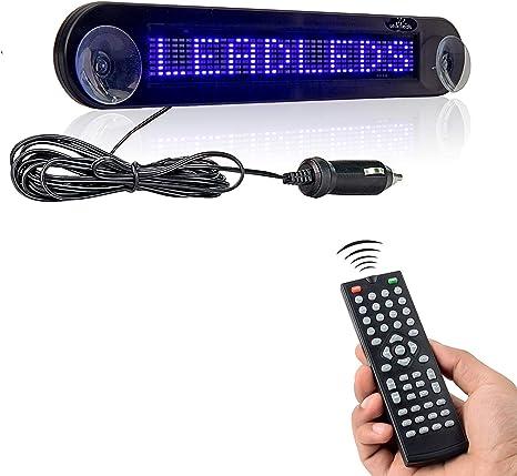 Amazon.com: Leadleds Dc 12 V Señal de coche LED programable ...