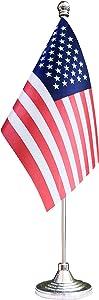 BCLin American Desktop Flag,USA US Table Flag,Desk Flag,Office Flag,for Home Garden Office Decoration, Festival Celebrations