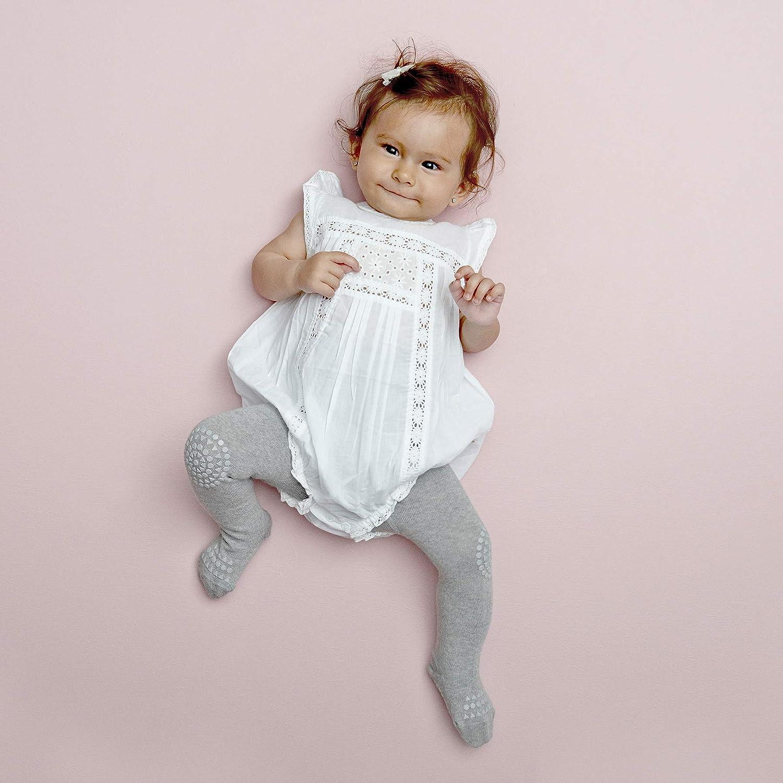 Collant per gattonare GoBabyGo 6-12 mesi colore: Grigio melange