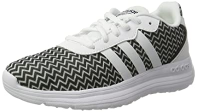 adidas Neo Cloudfoam Speed Womens Running Sneakers Shoes-White-5 cbcc69140