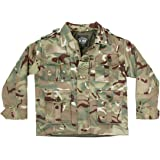 Kids Army Multi Cam Padded Army Jacket - Ages 3-13 Years