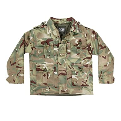 Style; Kas Kids Boys Camouflage T-shirt Army Multi Terrain Camo 3-13 Years Quality Fashionable In