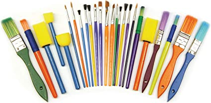 10 FOAM PAINT BRUSHES PAINTING BRUSHES DURABLE JUMBO PACK //SEE MY OTHER LISTINGS