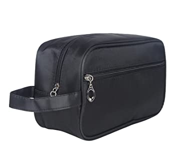 0c6c5ede10b8 Amazon.com : DW Waterproof Toiletry Bag, Large Nylon Travel Makeup ...