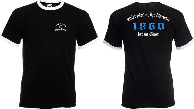 1860 Herren Kapuzenjacke Supporters Ultras world-of-shirt