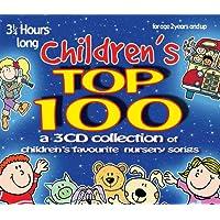 Children's Top 100: 3 CD set of children's favourite nursery songs & rhymes