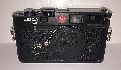 amazon com leica m6 ttl 35mm rangefinder camera body black rh amazon com leica m6 manuale italiano pdf leica m6 manual english