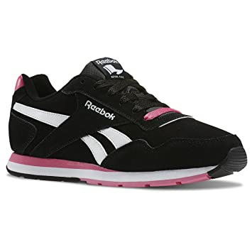db2ab4027f7b8 Reebok Royal Glide Chaussures Mode Sneakers Femme Cuir Suede: Amazon ...