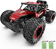 Bezgar Remote Control Car, 1:14 Aluminium Alloy Off Road Large Size Kids High Speed Fast Racing Monster Vehicle Hobby Truck