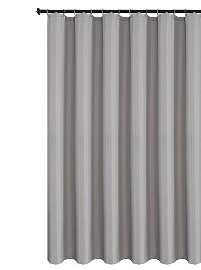 Biscaynebay Fabric Shower Curtain Liner Waterproof Water Resistant Bathroom 72 By
