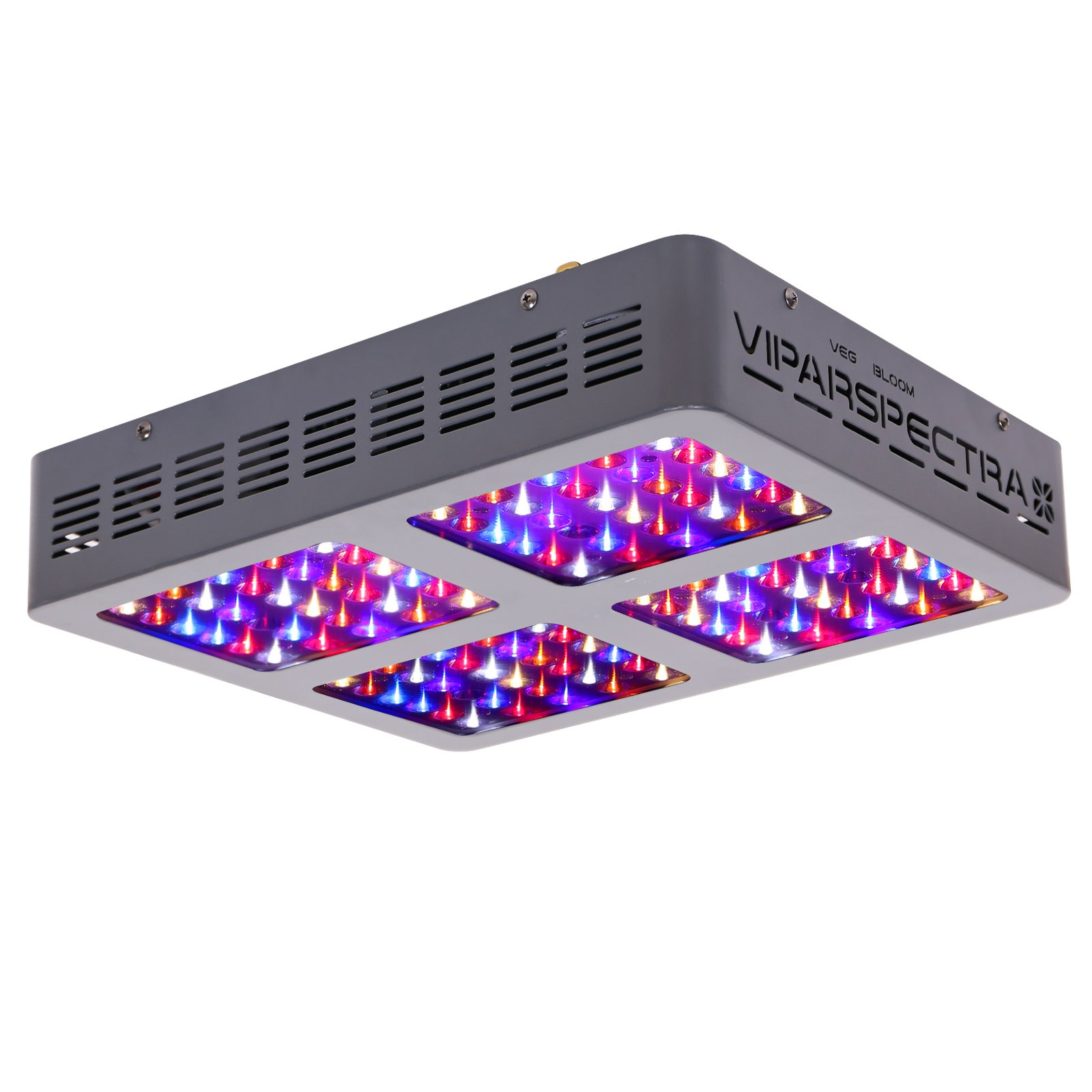 VIPARSPECTRA Reflector-Series 600W LED Grow Light Full Spectrum for Indoor Plants Veg and Flower by VIPARSPECTRA