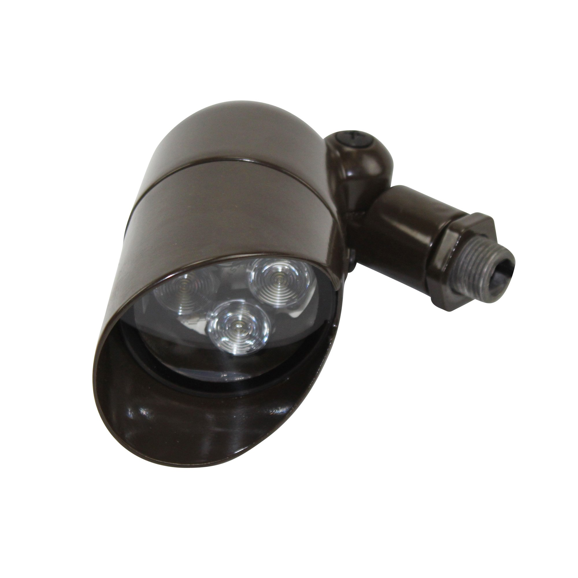 Philips Hadco Bl5D4 Led Low Voltage Landscape Light Bullyte; Bronze by Hadco Lighting