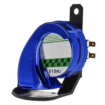Universal 130dB Waterproof Loud Snail Air Horn For Car Van Truck Motorcycle UK