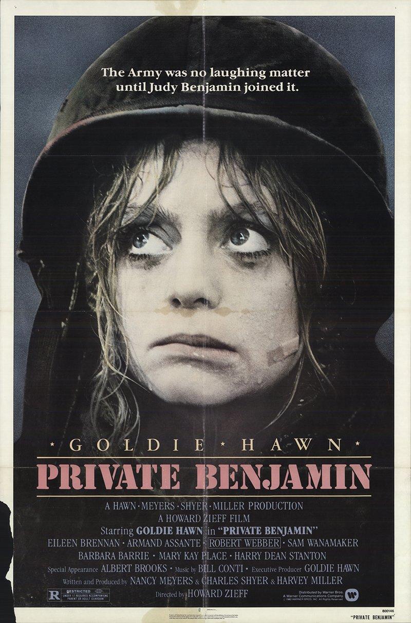 Private Benjamin 1980 Authentic 27 X 41 Original Movie Poster