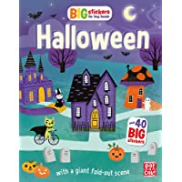 Halloween: With scenes, activities and a giant fold-out picture (Big Stickers for Tiny Hands, Band 8)