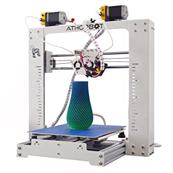 Amazon.com: Impresora 3D 2 en 1 doble extrusor Prusa i3 ...