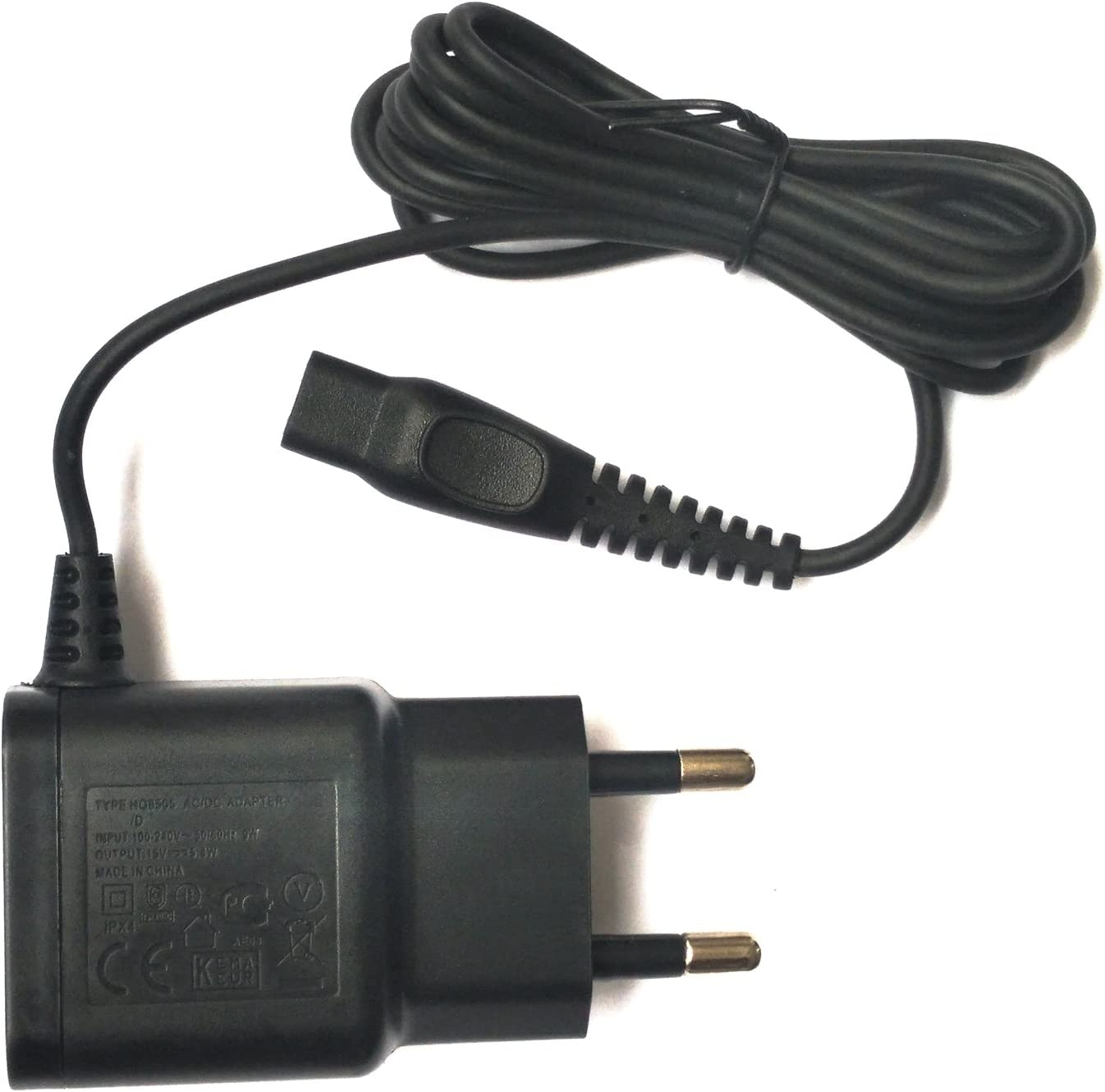 15 V, 5,4 W UE Adaptador de afeitar HQ8505 HQ8500 Cargador Adaptador de CA para Philips Norelco Shaver hq6076 PT860: Amazon.es: Electrónica