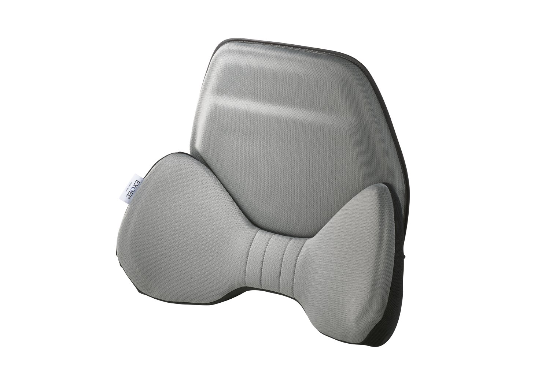 エクスジェル (EXGEL)  シートクッション ハグドライブ バッククッション グレー HUD01-GR B06XGYD3NB グレー グレー