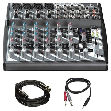 Amazon.com: Behringer (1202FX) Xenyx Premium mezclador de 2 ...