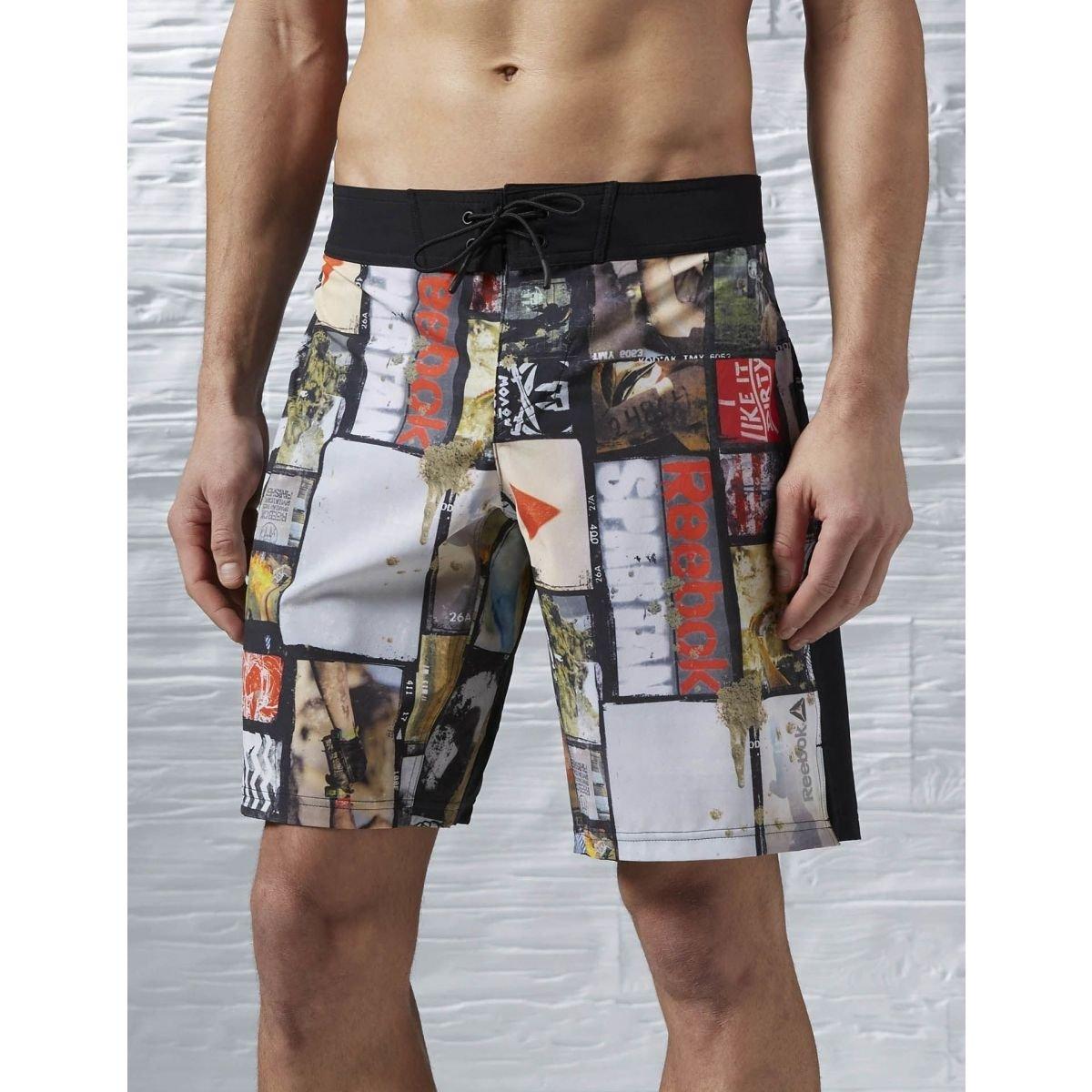 Reebok Herren Spartan Fan Board Shorts