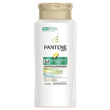 Amazon com: Pantene Pro-V Everlasting Ends 2-in-1 Shampoo