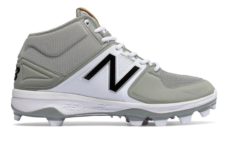 (ニューバランス) New Balance 靴シューズ メンズ野球 Mid-Cut 3000v3 TPU Molded Cleat Grey with White グレー ホワイト US 15 (33cm) B01MRI1PET