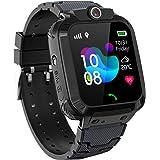 GPS Niños Impermeable Smartwatch, Reloj Inteligente Smart Watch Telefono con GPS Rastreador Conversación Bidireccional…