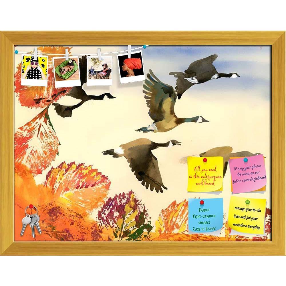 Amazon.com : ArtzFolio Birds Flying Printed Bulletin Board Notice ...
