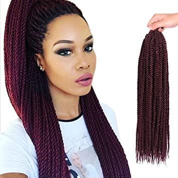 Amazon Senegalese Twist Hair Crochet Braids Hairstyles 2s