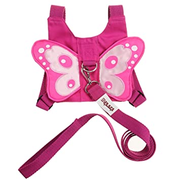 639a0b9813 Amazon.com   EPLAZA Baby Toddler Walking Safety Butterfly Belt Harness with  Leash Child Kid Assistant Strap (a)   Baby