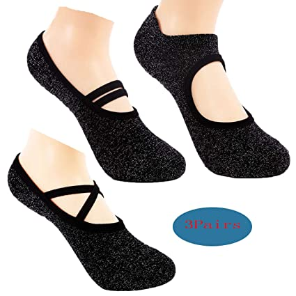 Women Yoga Socks Non Slip Skid Fashion Ankle Anti-Slip Sock ...