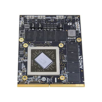 New GDDR5 2GB Graphics Video Card Replacement for Apple iMac 2011 A1312 MC814LL/A MC814 27-Inch All-in-One Desktop PC AMD ATI Mobility Radeon HD 6970M ...
