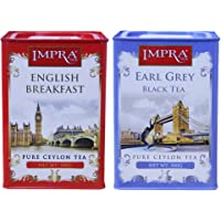 IMPRA 英伯伦 英式伯爵调味茶 组合装 1000g(斯里兰卡进口)(新老包装随机发货)(特卖)