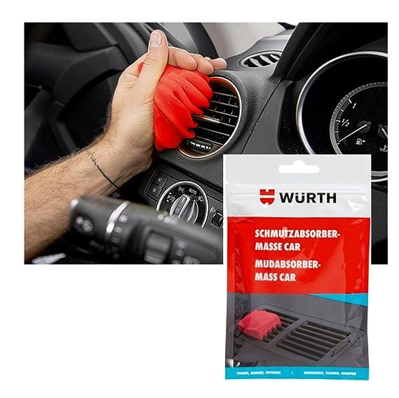 Würth Suciedad absorber de masa Car Suciedad absorber 100 g: Amazon.es: Coche y moto