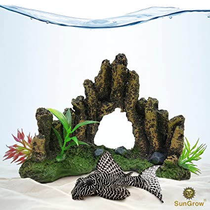 Sunken Wreck Fishing Aquarium Decor Give Rustic And Vintage Look To Your Water Tank Fish Tank Cave For Healthy Environment Durable Resin