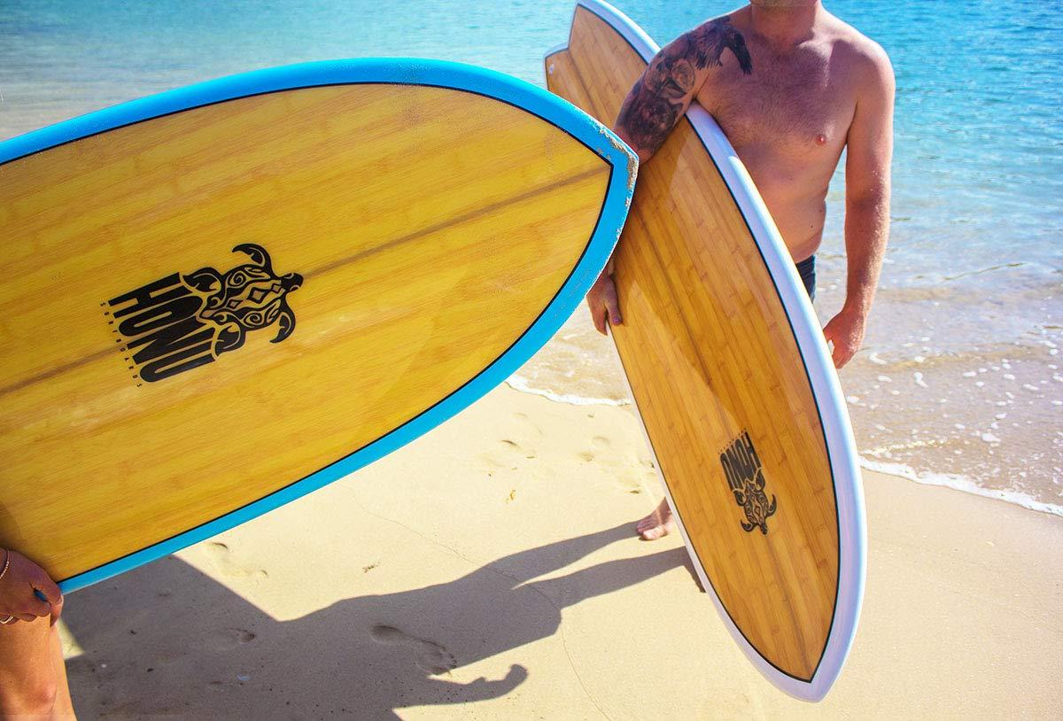 HONU Tabla de Surf Fish 6 4 White - Retro Design 4 x derives: Amazon.es: Deportes y aire libre