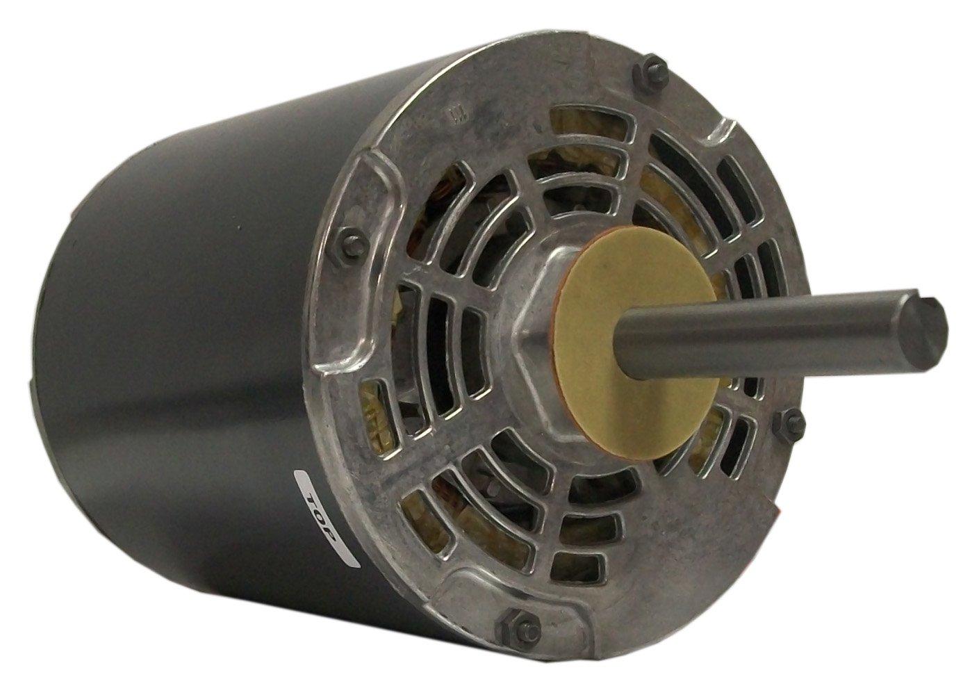Fasco D2850 5.6-Inch Diameter PSC Motor, 1 HP, 208-230/460 - 60Hz Volts, 1125 RPM, 1 Speed, 4.6/2.3 Amps, CW Rotation, Ball Bearing by Fasco B007VK0QEM